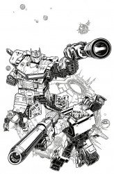 IDW Publishing's Transformers Issue # 1one stop-b