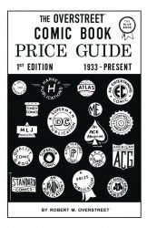 Gemstone Publishing's Overstreet Comic Book Price Guide  Hard Cover # 1facsimile
