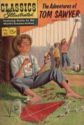 Gilberton Publications's Classics Illustrated #50: Adventures of Tom Sawyer Issue # 1m