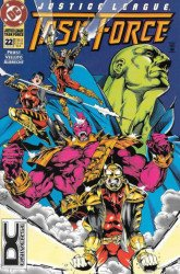DC Comics's Justice League Task Force Issue # 22b