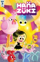 IDW Publishing's Hanazuki Issue # 3