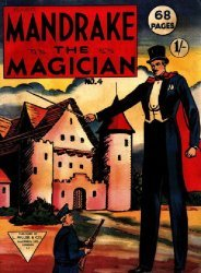L. Miller & Son's Mandrake the Magician Issue # 4