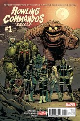 Marvel Comics's Howling Commandos of S.H.I.E.L.D. Issue # 1