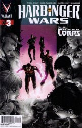 Valiant Entertainment's Harbinger Wars Issue # 3e