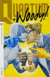 Valiant Entertainment's Quantum & Woody Issue # 1g