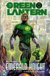 DC Comics's Green Lantern: 80 Years of the Emerald Knight Hard Cover # 1