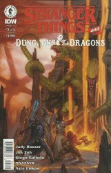 Dark Horse Comics's Stranger Things and Dungeons & Dragons Issue # 2