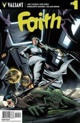 Valiant Entertainment's Faith Issue # 1x-ray comcs