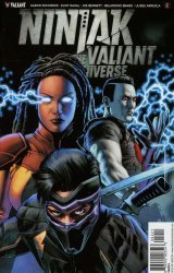 Valiant Entertainment's Ninjak vs The Valiant Universe Issue # 2b