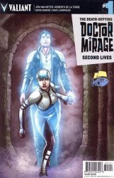 Valiant Entertainment's Death-Defying Doctor Mirage: Second Lives Issue # 1ssalefish-a