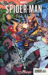 Marvel Comics's Marvel's Spider-Man: City at War Issue # 4c