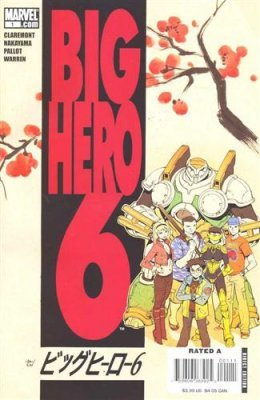 marvel comics big hero 6