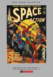 PS Artbooks's Pre-Code Classics: Space Action World War III Hard Cover # 1