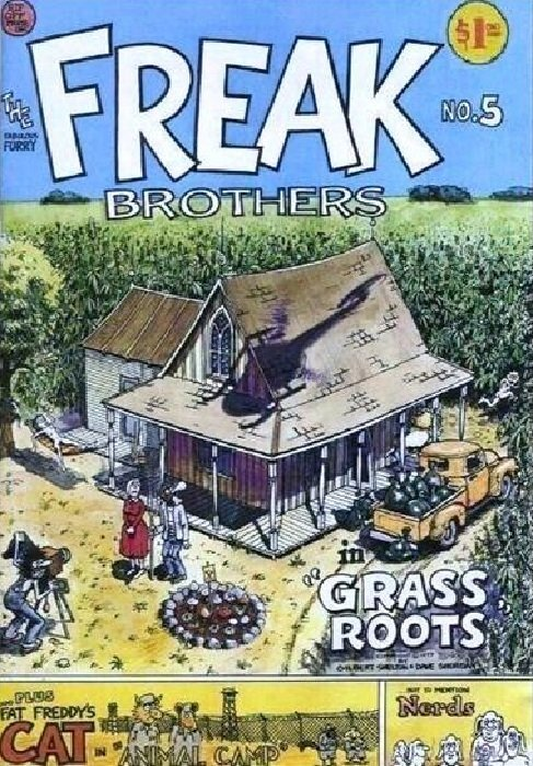 Freak Brothers by Rip Off Press Comics, 1984, Issue No. 8, Like New Condition