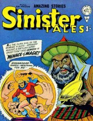 Alan Class & Company's Sinister Tales Issue # 54