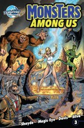 Storm Entertainment's Monsters Among Us Issue # 3