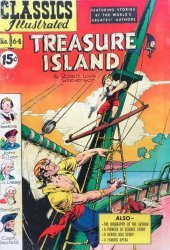 Gilberton Publications's Classics Illustrated #64: Treasure Island Issue # 2
