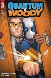 Valiant Entertainment's Quantum & Woody Issue # 3