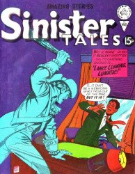 Alan Class & Company's Sinister Tales Issue # 148