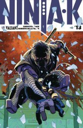 Valiant Entertainment's Ninja-K Issue # 13