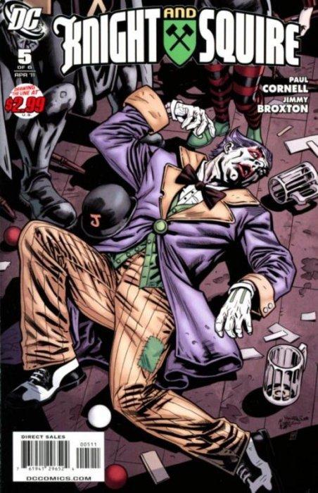 Knight and Squire 1 (DC Comics) - ComicBookRealm.com