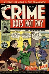 Lev Gleason Publications's Crime Does Not Pay Issue # 75b