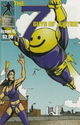 False Idol Studios's The Seven Guys of Justice Issue # 6