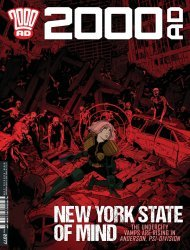 Rebellion's 2000 A.D. Issue # 2077