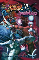 UDON Entertainment's Street Fighter vs Darkstalkers TPB # 2