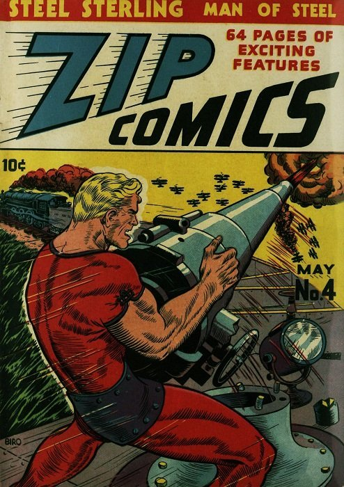 Book Cover Pictures Zip ~ Zip comics mlj publications comicbookrealm