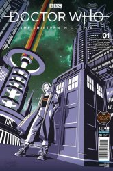 Titan Comics's Doctor Who: 13th Doctor Issue # 1dwcd
