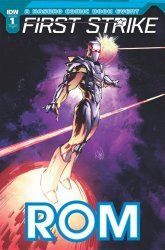 IDW Publishing's ROM: First Strike Issue # 1ri