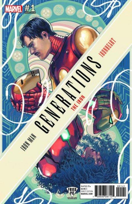 Generations The Iron #1 Variant NM Marvel Comics Iron Man Iron heart Legacy