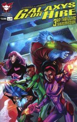 Devil's Due Publishing's Galaxy's For Hire Issue # 3b
