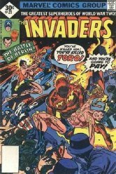 Marvel Comics's The Invaders Issue # 21whitman