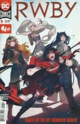 DC Comics's RWBY Issue # 1