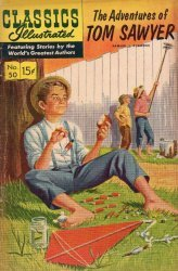 Gilberton Publications's Classics Illustrated #50: Adventures of Tom Sawyer Issue # 1k
