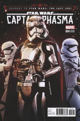 Marvel Comics's Journey to Star Wars: The Last Jedi - Captain Phasma Issue # 4b