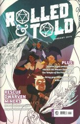 Lion Forge Comics's Rolled & Told Issue # 5