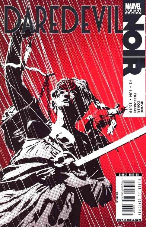 Marvel Comicss Daredevil Noir Issue 3b