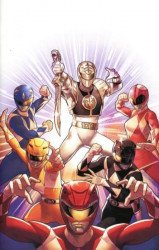 BOOM! Studios's Mighty Morphin Power Rangers Issue # 40e