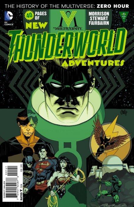 Multiversity Thunderworld Adventures #1 9.2 DC Comics 2015 Grant Morrision NM