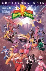 BOOM! Studios's Mighty Morphin Power Rangers Issue # 29