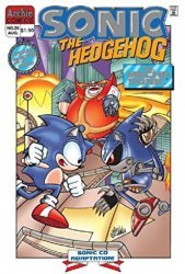 Archie Comics Group's Sonic the Hedgehog Issue # 25b