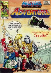 London Editions Magazines's Masters of the Universe Adventure Issue # 17