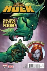 Marvel's Totally Awesome Hulk Issue # 3