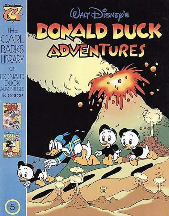 Gladstones Carl Barks Library Of Walt Disneys Donald Duck Adventures In Color Issue 5
