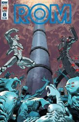 IDW Publishing's ROM Issue # 8