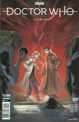 Titan Comics's Doctor Who Comic Issue # 1d