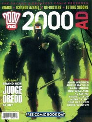 Rebellion's 2000 AD: Free Comic Book Day Issue # 2012